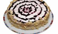 Селска торта с боровинки