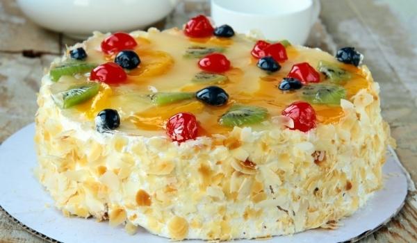 Домашна лепена торта