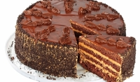 Шоколадова торта с лешници
