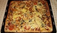 Бърза лесна пица за закуска - Глори