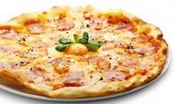 Пица с бекон и сметана