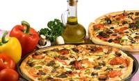 Пица с маслини и чесън