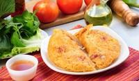 Омлет с пилешко