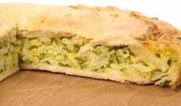 Хляб с плънка от сирене и тиквички