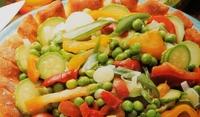 Хлебен венец със зеленчуци