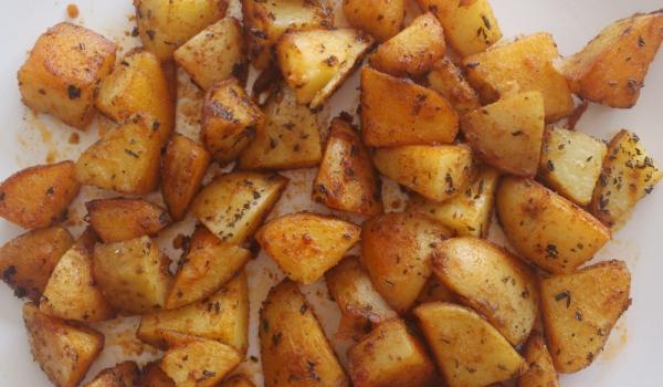 Ароматни картофки на тиган