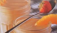 Портокалово-ягодово смути