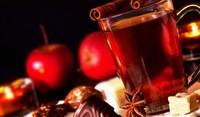 Греяно вино с ябълки