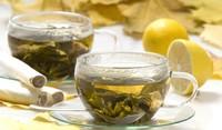 Зелен чай с ябълки и карамел