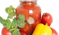 Туршия от червени домати
