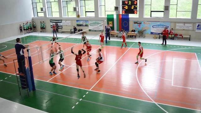 Арда Кърджали стана първенец на държавните финали по волейбол за момчета до 14 години в Смолян