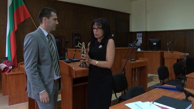 Пламен Георгиев официално е новият председател на Районен съд Хасково